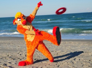 crop Fur suit frisbe well have your business flying high